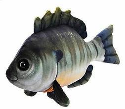 "Wild Republic Living Stream Bluegill Fish Plush Toy 13"" Long"