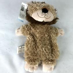 Lonnie Nat and Jules Lion Packed Plush Hand Puppet Stuffed A