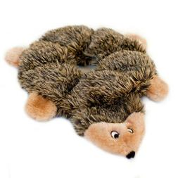 ZippyPaws - Loopy Hedgehog No Stuffing Squeaky Plush Dog Toy