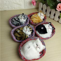 Lovely Simulation Doll Plush Animal <font><b>Cats</b></font>