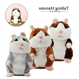 Lovely Talking Hamster Electronic Plush Toy Mouse Pet Sound