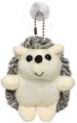 "Lucore 4"" Hedgehog Plush Stuffed Animal Keychain - Toy Doll,"