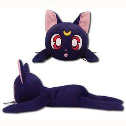 Sailor Moon Luna Guardian Cat 12-inch Lying Pose Plush Toy O