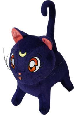 Sailor Moon Luna Plush Toy Purple Cat New W/ Tag Official Li