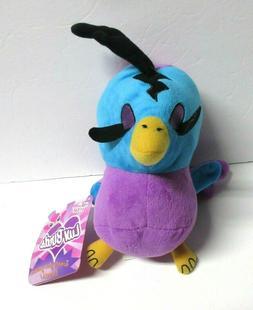 Luv Birds Plush Stuffed Animal Bird Blue and Purple Sugar Lo