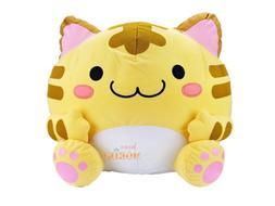 Maruneko Club Tabby Yellow Cat Plush Japan UFO Catcher Cute