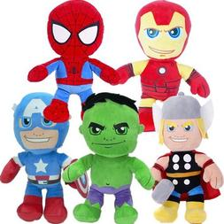 "Bargains-Galore 10"" Marvel Plush Soft Cuddly Toy Gift Superh"