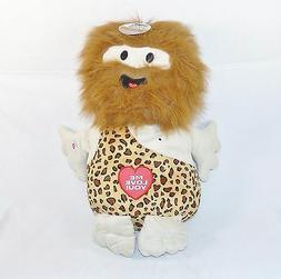 Me Love You! 19 Inch Jumbo Talking Caveman Plush Toy with 3