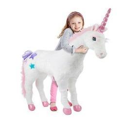 melissa doug plush fantasy unicorn soft plush