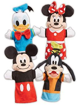 Melissa & Doug Mickey Mouse & Friends Hand Puppets; Puppet S