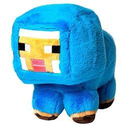 JINX Minecraft Blue Baby Sheep Plush Stuffed Toy