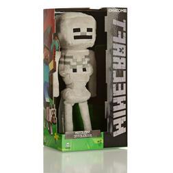 "JINX Minecraft 12"" Skeleton Plush Stuffed Toy"