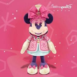 Minnie mouse march month mad tea party plush toy disney stor
