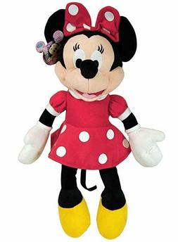 "MINNIE MOUSE Soft PLUSH DOLL Toy  15"" RED Great Gift License"