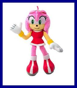 """Sonic Modern Amy Collector Plush PINK 1 8"""" Toys & Games"""