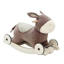 Labebe Modern Plush Rocking Horse for Little Toddlers Kids B