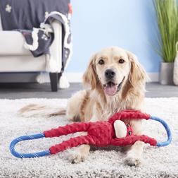 ZippyPaws Monkey RopeTugz Plush & Rope Dog Toy