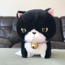 """AMUSE - Munchkin Black White Bell Cat """"Ojiki"""" Japan Plus"""