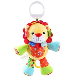Rolina Baby Musical Stroller Crib Toys Cute Animal Rattle Pl