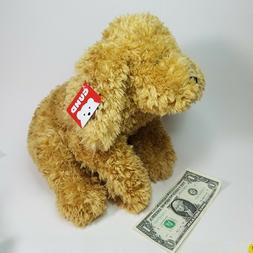 "GUND Muttsy Dog Stuffed Animal Plush, Beige, 14"" - New W/ Ta"