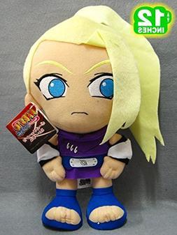 "Naruto Yamanaka Ino 12"" Japanese Anime Cartoon Plush Doll To"