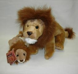 Nat & Jules Plush LION LARGE and Lou Rankin Dakin MAXIMILLIA