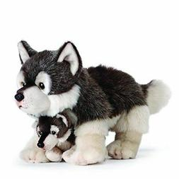 Nat and Jules Plush Toy, Wolf Mom and Pup