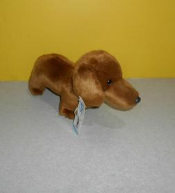 "Nat and Jules Small 10"" Dachshund Wiener Dog Plush Stuffed A"