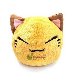 FuRyu Nemuneko Cute and Fluffy Cat Plush 13'' ~ Large Ye