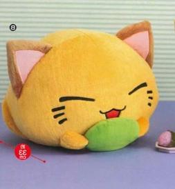 Furyu NemuNeko DX Plush Mochi Oishi Version - Yellow / Green