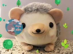 "NEW 16"" Harinezumi no Harin Kurin Hedgehog Brown Plush Amu"