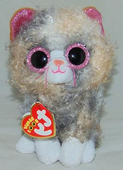 "New! 2019 Ty Beanie Boos SCRAPPY the Kitty Cat  6"" IN HAND"