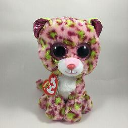 "New! 2020 Ty Beanie Boos LAINEY the Leopard 6"" nwt's"