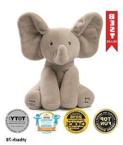 NEW! GUND Baby Animated Flappy The Elephant Plush Toy- FREE