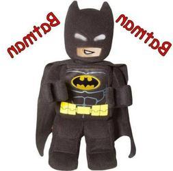 "NEW Lego Batman Minifigure Plush 12"" Tall Stuffed Superhero"