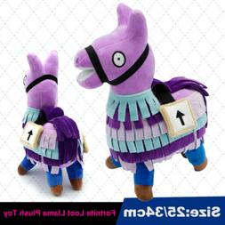 New Cute Fortnite Loot Llama Plush Toy Figure Doll Soft Stuf