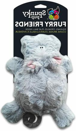 *NEW* Spunky Pup Furry Friends Harry the Hippo Squeaky/Crink