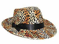 NEW Leopard Print Hat - Plush Dress Up - Small Adult