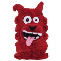 New Dogzilla Mutants Frog Dog Squeaky Plush Dog Toy, Medium