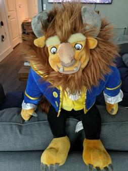 """NEW Disney Parks Authentic BEAST Large Plush Toy 23"""" Doll fr"""