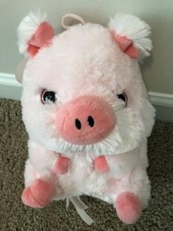 NEW Nanco Pink Pig Plush Toy. Extra Soft. 9'' tall. Stuffed