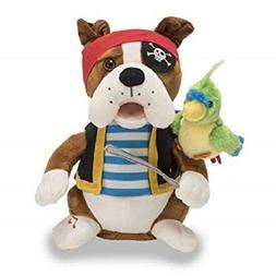 NEW Cuddle Barn PIRATE PETE Animated Kids Plush Toy Holiday