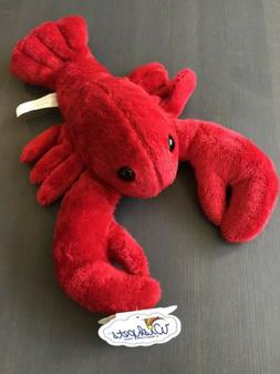 "NEW Wishpets Plush 1997 12"" Red Lobster ""Rocky"" Rare Collect"