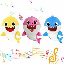 NEW PLUSH BABY SHARK TOYS DOO DOO TOY ENGLISH SINGING DOLL K
