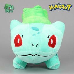 New Pokemon Bulbasaur Plush Soft Stuffed Animal Doll Teddy K