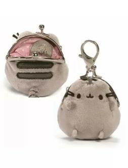 Gund New * Pusheen Coin Purse * 3-Inch Tabby Kitty Stuffed T