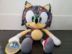 "NEW! Sonic the Hedgehog Large 12"" Plush Stuffed 2018 Edition"