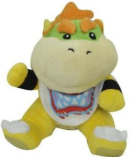 New Super Mario Bros. Koopa Bowser Jr. Plush Toy Figure Soft