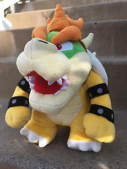 "New Super Mario Brothers Bros. Party Bowser 10"" Plush Toy Do"