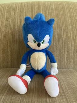 "NEW Toy Factory 8"" SONIC THE HEDGEHOG MOVIE Sonic Plush To"